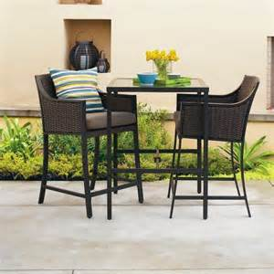 casetta 3 wicker patio bar height bistro furniture set threshold target