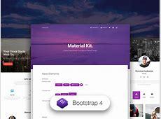 Material Kit Free Bootstrap 4 Material Design UI Kit