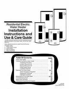Wiring An Electric Water Heater Diagram  U2013 Database