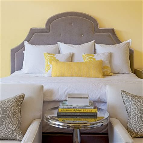 yellow and gray bedroom ideas a touch of yellow in the bedroom panda s house