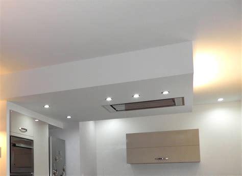 plafond de cuisine design le rénovation entrée séjour salon cuisine pour