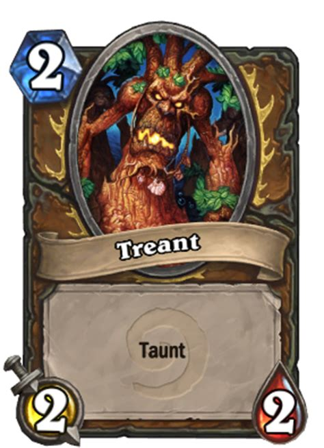 treant taunt hearthstone card