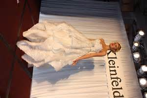 pnina tornai gown wpic ca wpic at kleinfeld bridal 39 s fashion show in nyc 2012