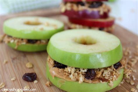 school snack apple sandwiches recipe cincyshopper