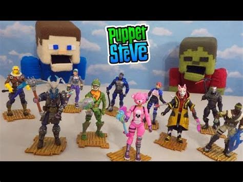 fortnite toys complete action figures solo squad mode