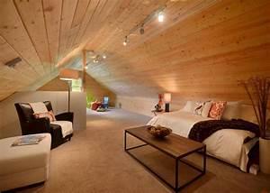 Modern, Loft, Living, Room, Design, Ideas