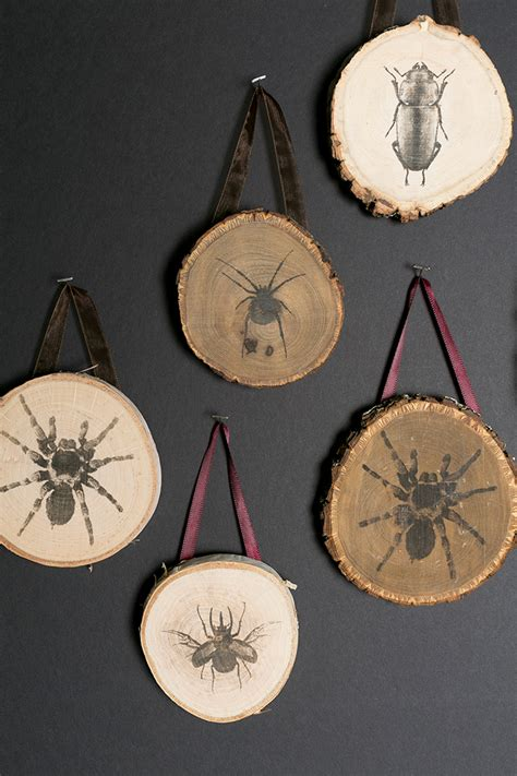 diy halloween transfer wood plaques