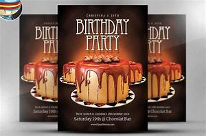 Ms Publisher Free Download 22 Amazing Birthday Party Psd Flyer Templates Word