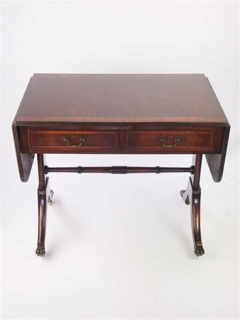 mahogany sofa table antique antique edwardian regency revival mahogany sofa table