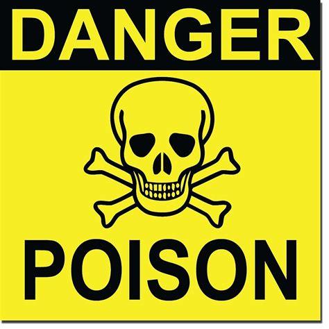 poison picture quot danger poison symbol quot by technokrat redbubble
