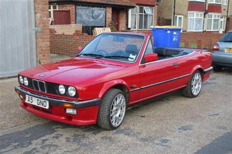 1987 Bmw E30 325i Convertible Auto Sold