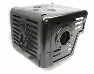 Honda Gx240  Gx270 Muffler With Shield