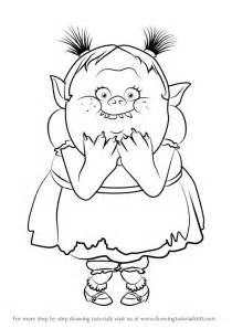 How to Draw Bridget From Trolls