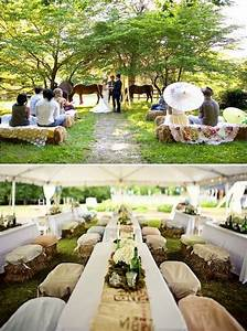 12 best simple rustic wedding ideas images on pinterest With simple backyard wedding ideas