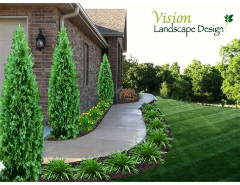 sidewalk landscaping ideas landscaping front sidewalk landscape designs thumbs thumbs cotterfrontwalkway jpg 328 0