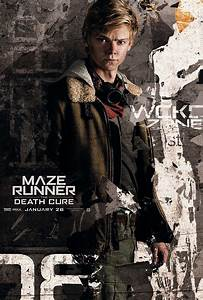 Maze Runner The Death Cure Poster Thomas Brodie-Sangster ...