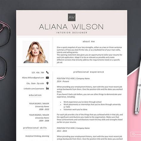 Sle Resume With Picture Template by Behold A Stunning Creative Resume Template For Every