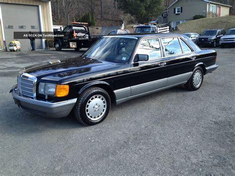 how does cars work 1988 mercedes benz s class parking system 1988 mercedes benz s class information and photos momentcar