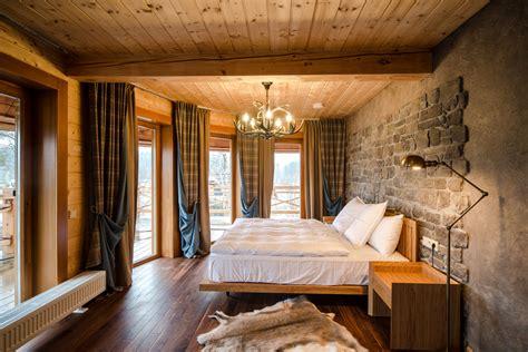 dormitorio rustico  revestimiento de piedra fotos