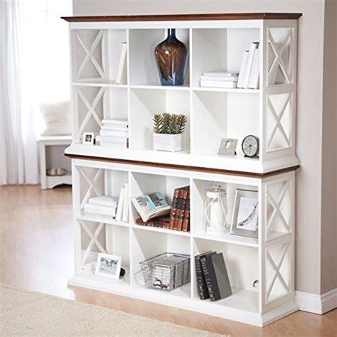 belham living hampton console table  shelf bookcase