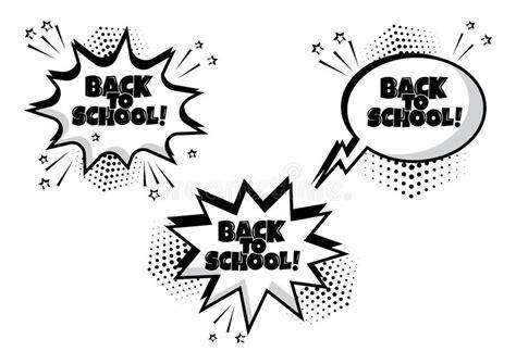 Bang Comic Explosion Logo Icon Text Stock Vector
