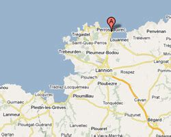le crotoy chambre d hote perros guirec map related keywords perros guirec map