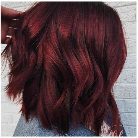 The New Hair Colour by Mulled Wine Hair Is The Coolest New Hair Color Trend For
