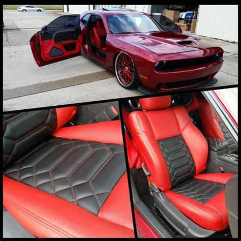 dodge challenger custom interior dodge challenger and black interior slammed