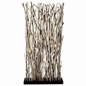 Luminaire En Bois Flotté : lampadaire style exotique ferret lampes en bois flott ~ Teatrodelosmanantiales.com Idées de Décoration