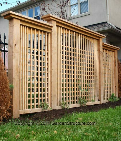 Backyard Privacy Screens Trellis - modern privacy screen designs professional privacy