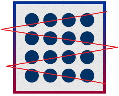 Join All Circles Together Only With 6 Lines