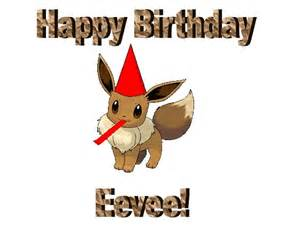 Happy Birthday Eevee