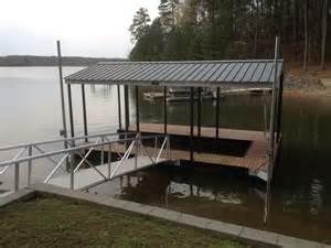 Floating Boat Docks On Lakes