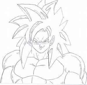 goku super saiyan 4 wip by pete tiernan on deviantart Quotes