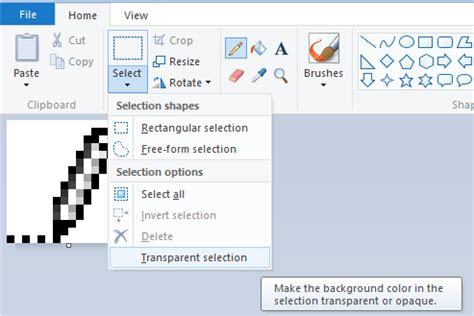 c 243 mo crear la imagen transparente en ms paint windows 7
