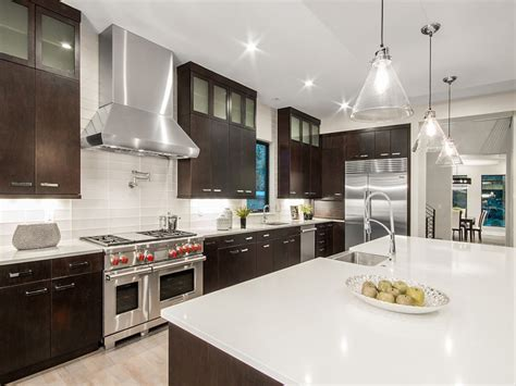 white kitchen cabinets with dark countertops 53 high end contemporary kitchen designs with natural