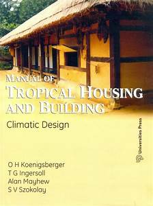 Manual Of Tropical Housing And Building  English