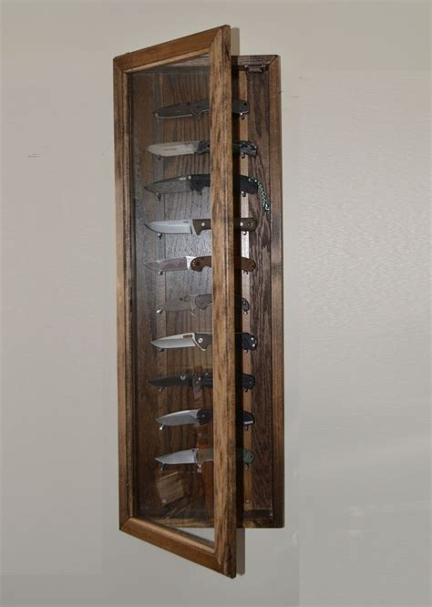 Knife Display Cabinet by Knife Display Wall Mounted Knife Display Cabinet