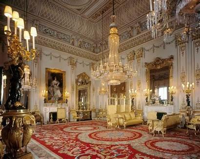 Palace Inside Buckingham Queen Royal Elizabeth Ii