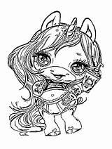 Poopsie Coloring Slime Surprise Unicorn sketch template