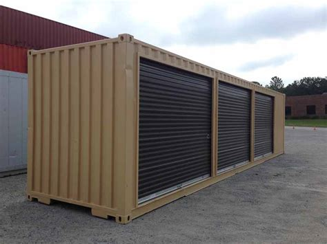 Mini Storage Container Conversion  Container Technology, Inc