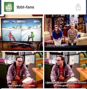 Big Bang Theory Video Game Injury