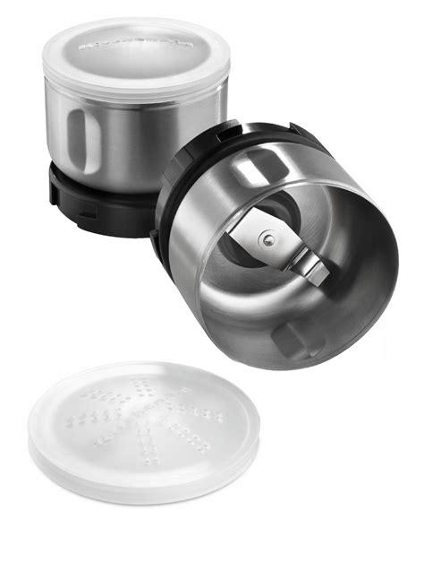 Kitchenaid Dishwasher Grinder by Kitchenaid Bcg211ob Spice Kit Grinder With Bowls
