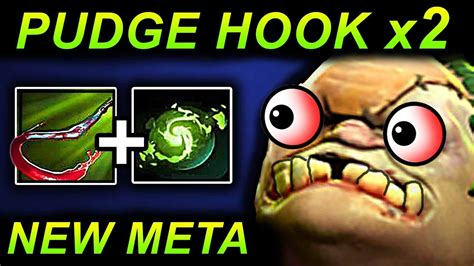 pudge hook dota 2 patch 7 07 new meta pro gameplay youtube
