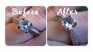 quick tip how to make your engagement ring really sparkle With do you use the same ring for engagement and wedding