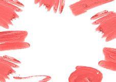 lipstick border royalty  stock image image