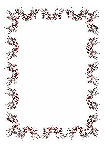 Border Borders Clip Butterfly Clipart Animated Cliparts