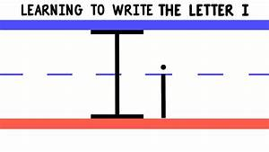 Write the Letter I - ABC Writing for Kids - Alphabet ...  I