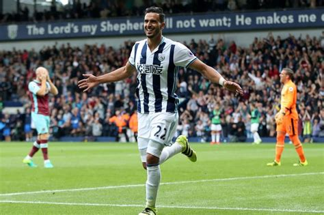 West Brom fans react to Nacer Chadli's omission from pre ...