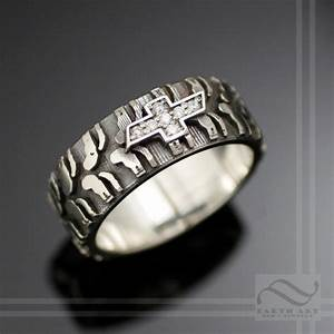 mens chevy tire tread ring with diamond sterling by With chevy wedding rings